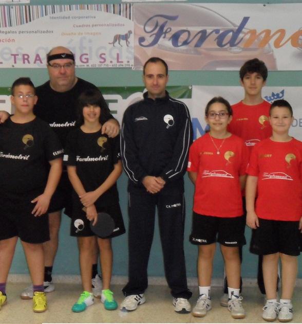 C.R. FORDYTEMOVIL vence a C.T.M. RINCÓN DE LA VICTORIA  en Tenis de Mesa