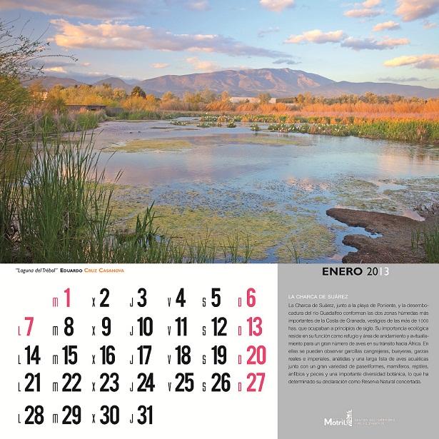 El calendario ambiental 2013 apuesta por la conservación natural de Motril y su entorno