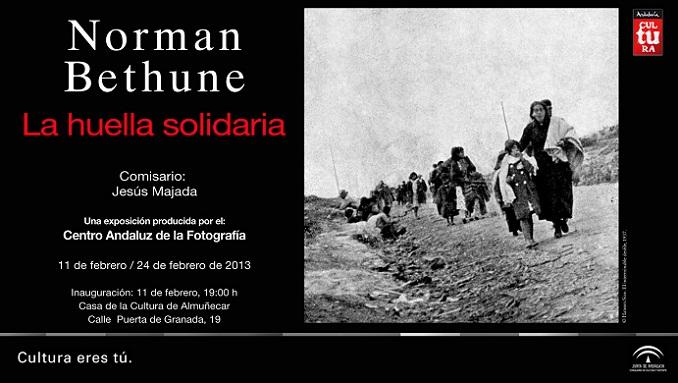 """La Casa de la Cultura de Almuñécar acoge la exposición """"La huella solidaria"""""""