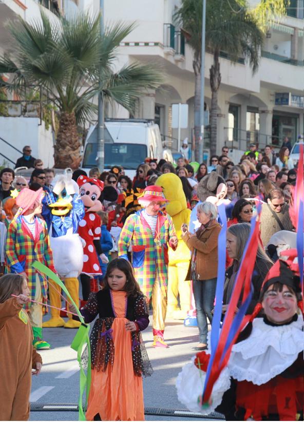 La Herradura celebra hoy viernes  su concurso de comparsas y chirigotas