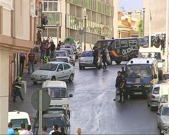 Al menos cuatro detenidos en una redada antidroga en Motril