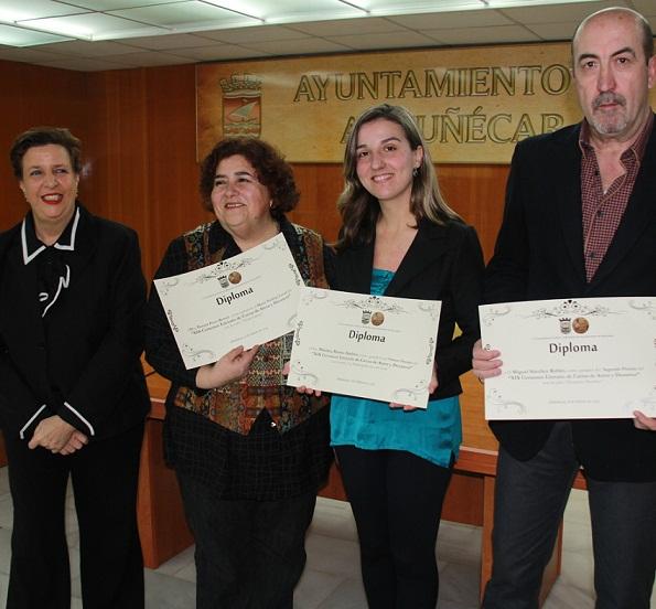 Almuñécar premia a los ganadores del XIX Certamen de Cartas de Amor y Desamor