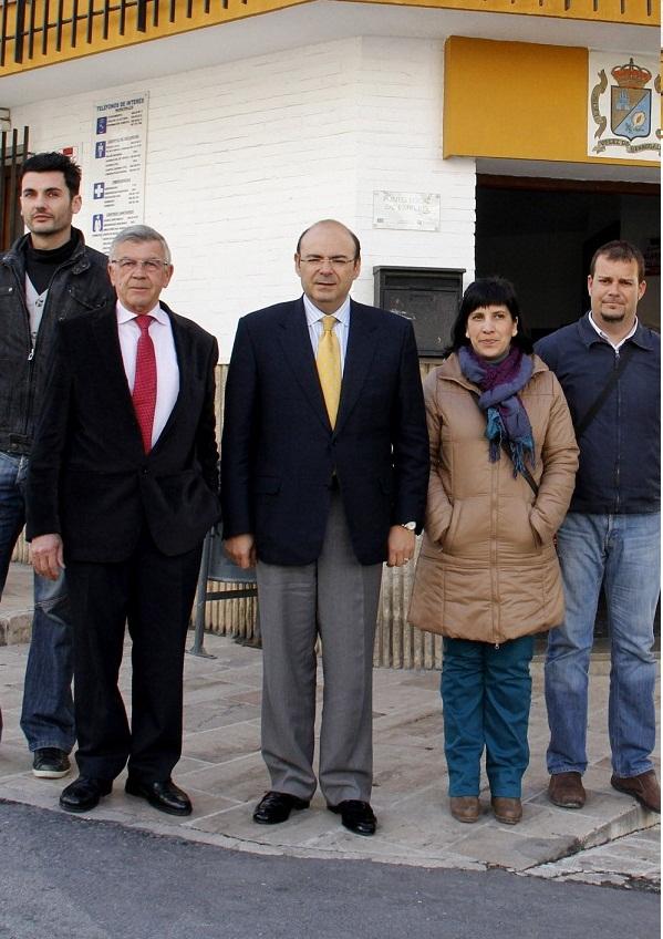 Diputación aboga por reforzar el Jardín Nazarí dentro de la oferta turística de Vélez de Benaudalla