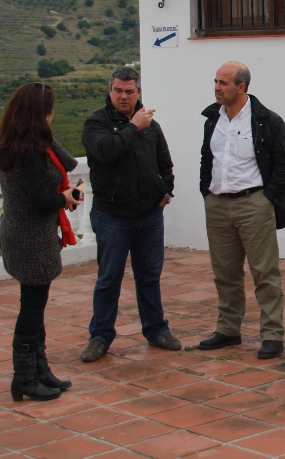 Ayuntamiento de Almuñécar ofrece al Consejo Regulador de la Chirimoya unas nuevas dependencias municipales para sede del mismo