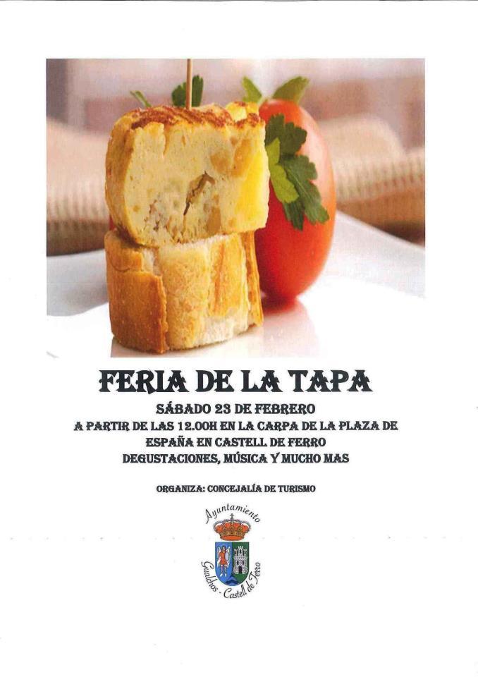 Este sábado se celebra la Feria de la Tapa en Gualchos Castell de Ferro