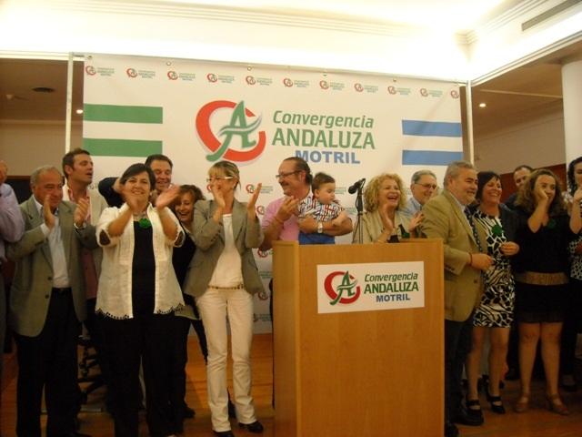 CONVERGENCIA ANDALUZA CELEBRA SU PATRONA, ANDALUCÍA, INAUGURANDO NUEVA SEDE