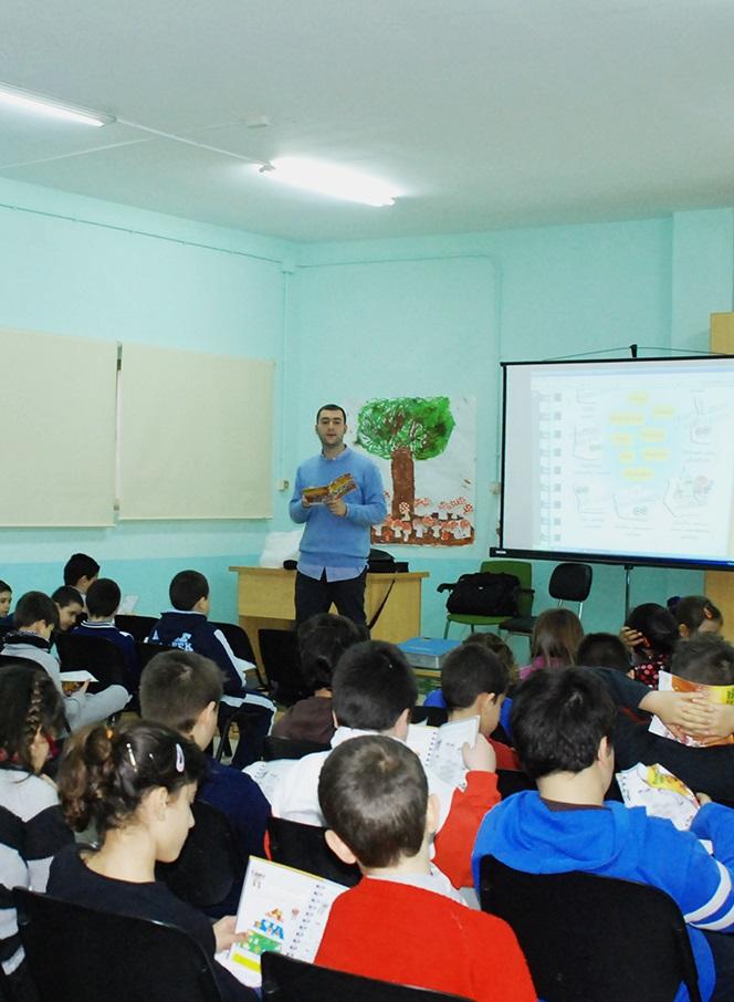 El colegio Nuestra Señora del Pilar acoge una nueva cita del proyecto Come Sano