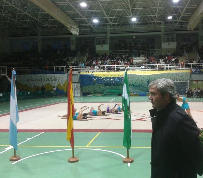 La exhibición de Gimnasia Rítmica reúne a 350 alumnas de Motril, Carchuna y Calahonda