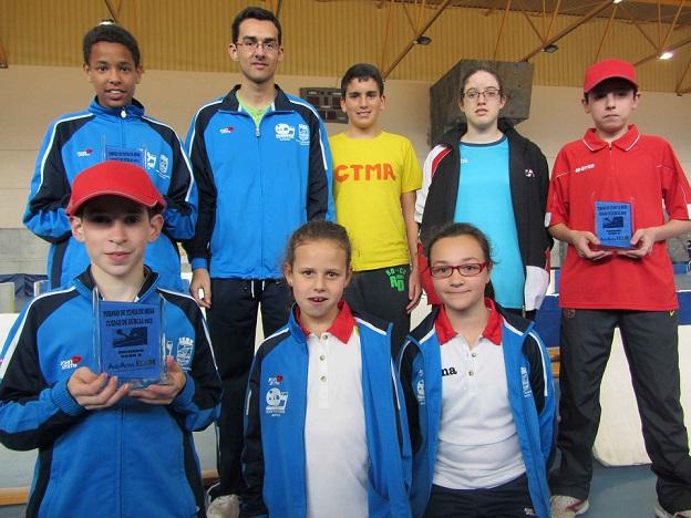 La Escuela de Tenis de Mesa de Almuñécar consiguió cinco podios en el Torneo de Dúrcal
