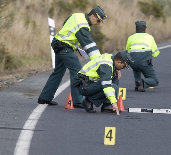Un muerto en un accidente de tráfico en CN 340 a la altura de Salobreña