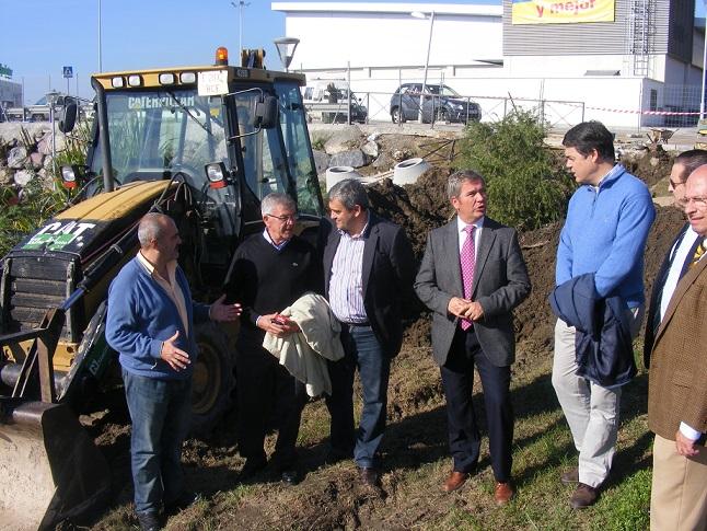 García Fuentes asegura que la obra, que ahora pide el PSOE, está en ejecución desde noviembre de 2012