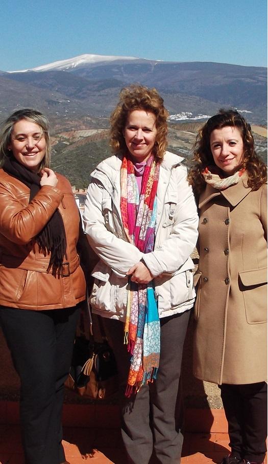 Diputación y Ugíjar trabajan en el Centro del Patrimonio Cultural de la Alpujarra