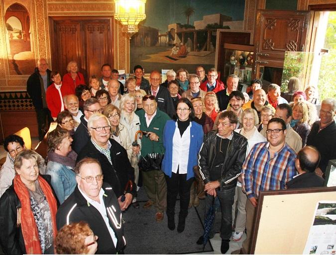 Medio centenar de turistas finlandeses conocen Almuñécar invitados por Radio Finlandia