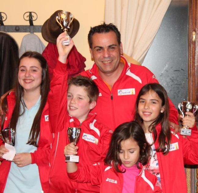 Cinco títulos absolutos en el Campeonato Provincial Escolar de Ajedrez