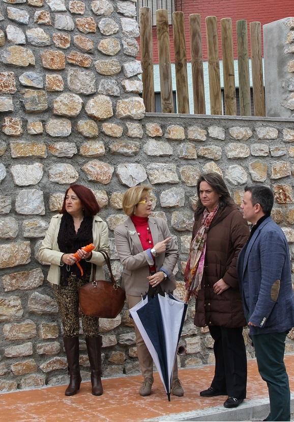 Culminan las obras de reconstrucción del muro de San Antonio