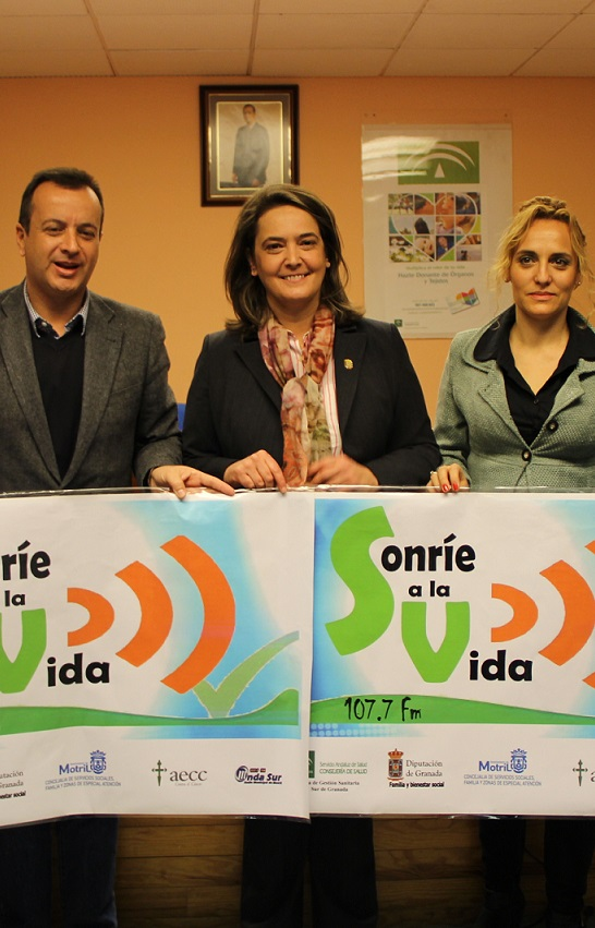 Motril pone en marcha el programa radiofónico 'Sonríe a la vida' en Onda Sur Motril (107.7)