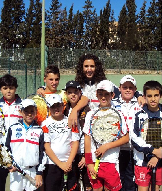 El equipo Alevín de Tenis del C T Costa Tropical  arranca el Campeonato de Andalucía por equipos con victoria  5 -2 frente a Albox