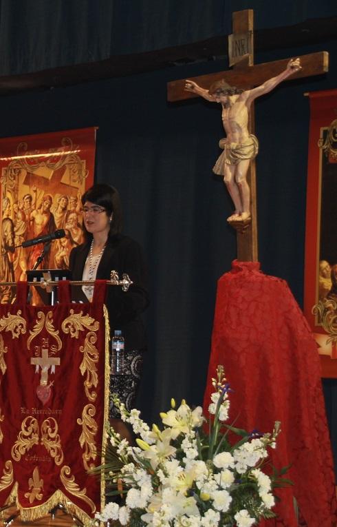 La Semana Santa de La Herradura fue pregonada por una cofrade fundadora