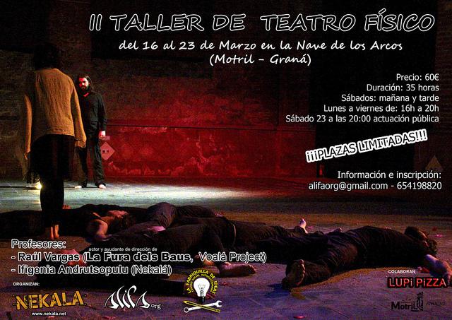 Nuevos Talleres de Teatro Físico con Nekalá y Alifa