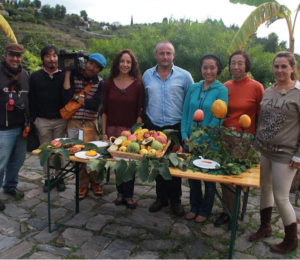 Una decena de agentes de viajes de turismo  agrícola de Francia, Alemania, Reino Unido y España visitan Almuñécar