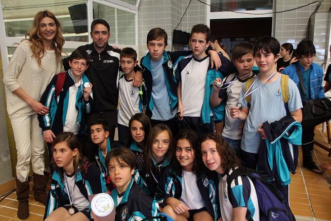 El colegio San Agustín se proclama campeón de la V Jornada de Waterpolo escolar