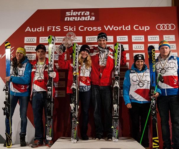 Una fuerte nevada sentencia  la Copa del Mundo de ski cross