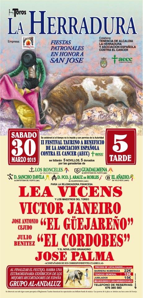Este sábado y el domingo se celebrarán en La Herradura los   festejos taurino y ecuestre que fueron aplazados por la lluvia