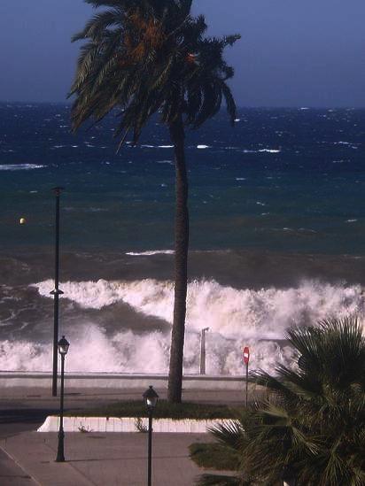 Alerta amarilla en la Costa de Granada desde las 0,00 hasta las 8 de la mañana del sábado