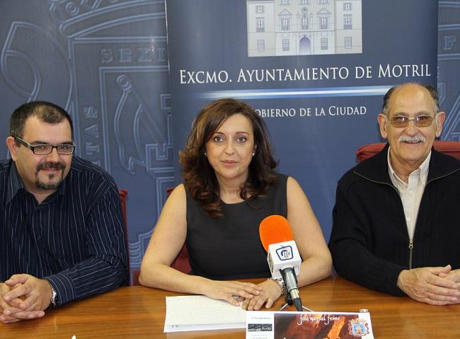 1 kilo de alimentos servirá como entrada al acto de presentación del nuevo libro de José Manuel Frías en Motril