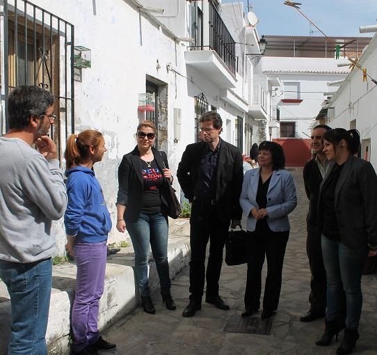 JUNTA DE ANDALUCÍA Y AYUNTAMIENTO IMPULSAN LAS OBRAS DE INFRAVIVIENDA EN EL MUNICIPIO