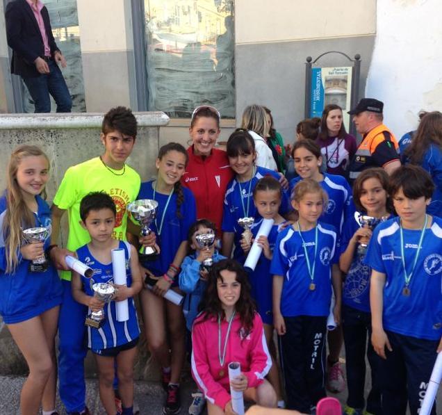 Los atletas motrileños en Guadix y Almuñécar