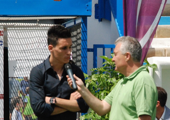 José María Callejón cumplió su 150 partidos de fútbol en primera división