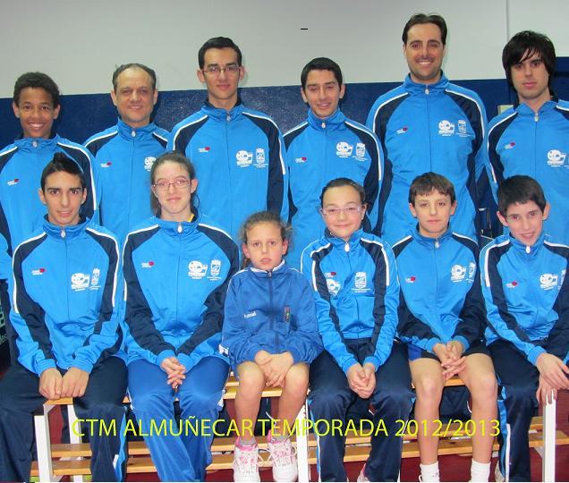 El CTM Almuñécar se clasifica para la fase de ascenso a  División de Honor Andaluza