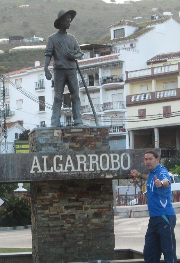EL CLUB . ATLETISMO .  ALMUÑECAR EN LA I CARRERA POPULAR DE ALGARROBO