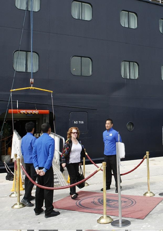 Dos cruceros atracan en el Puerto de Motril en una semana
