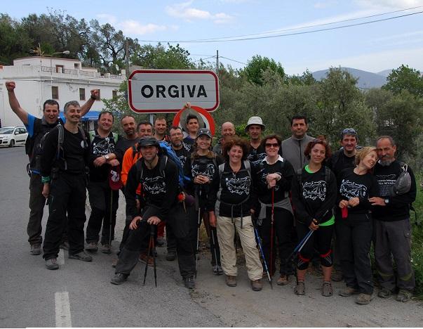 Órgiva y Las Gabias organizan la I Travesía de hermanamiento entre las dos localidades