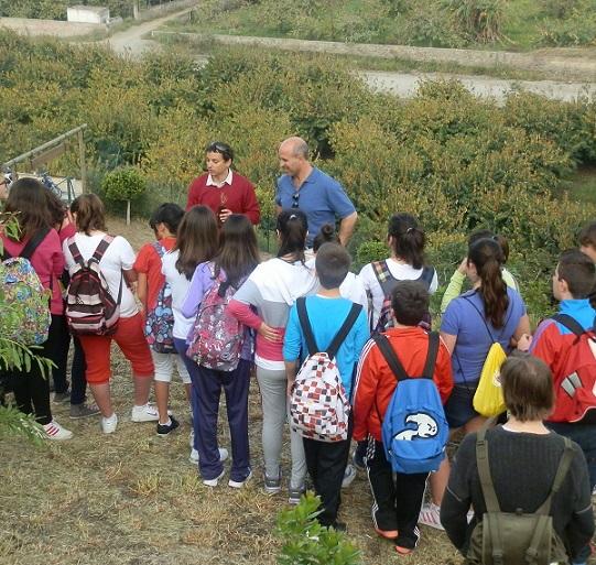Más de medio centenar de alumnos de Primero de la ESO del IES Antigua Sexi  de Almuñécar  participan en la siembra árboles