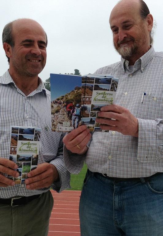 El Ayuntamiento de Almuñécar colabora en la edición de guía de Senderismo