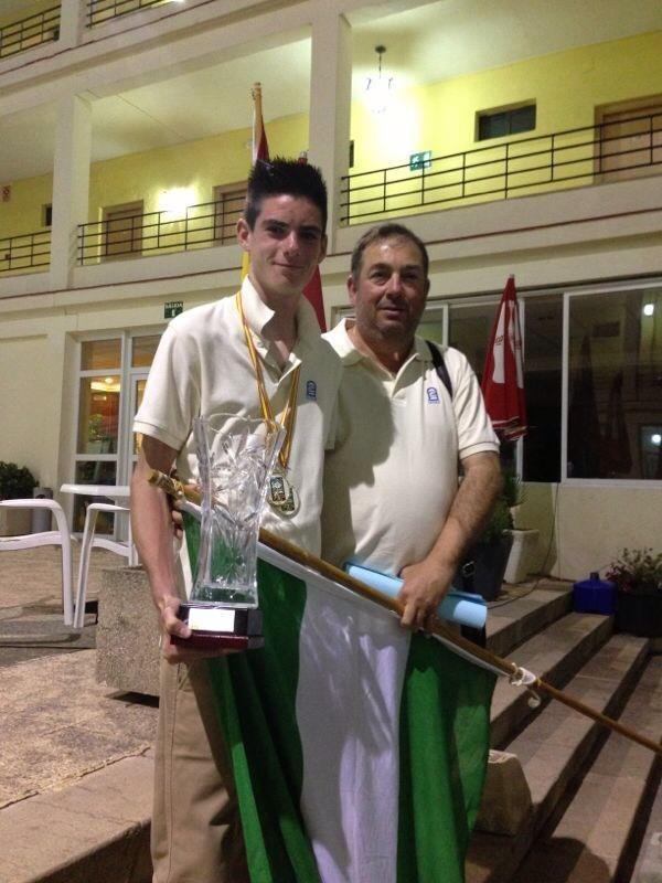 El motrileño Alejandro Ruiz Pérez se proclamó campeón de  España en U16