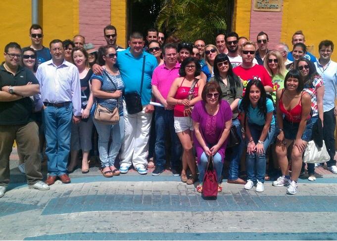Medio centenar de agentes de viajes del Grupo Globalia conocieron  este pasado fin de semana Almuñécar
