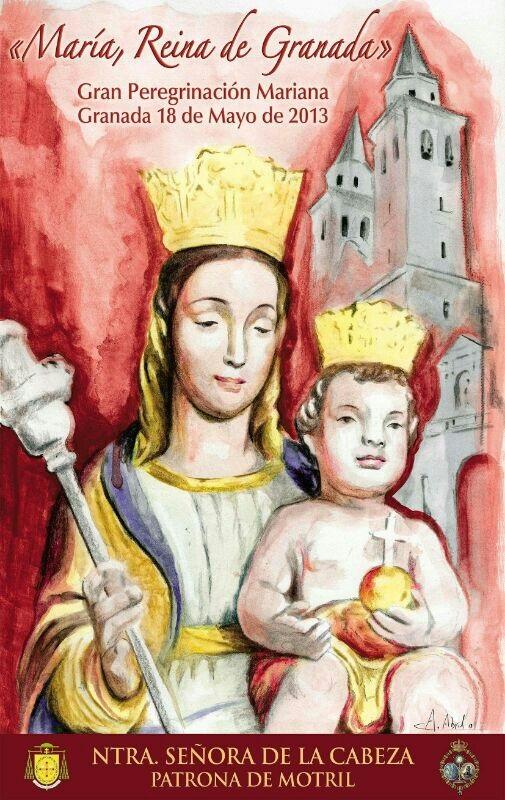 La Virgen de la Cabeza participará en cortejo de la Magna Peregrinación «María, Reina de Granada»
