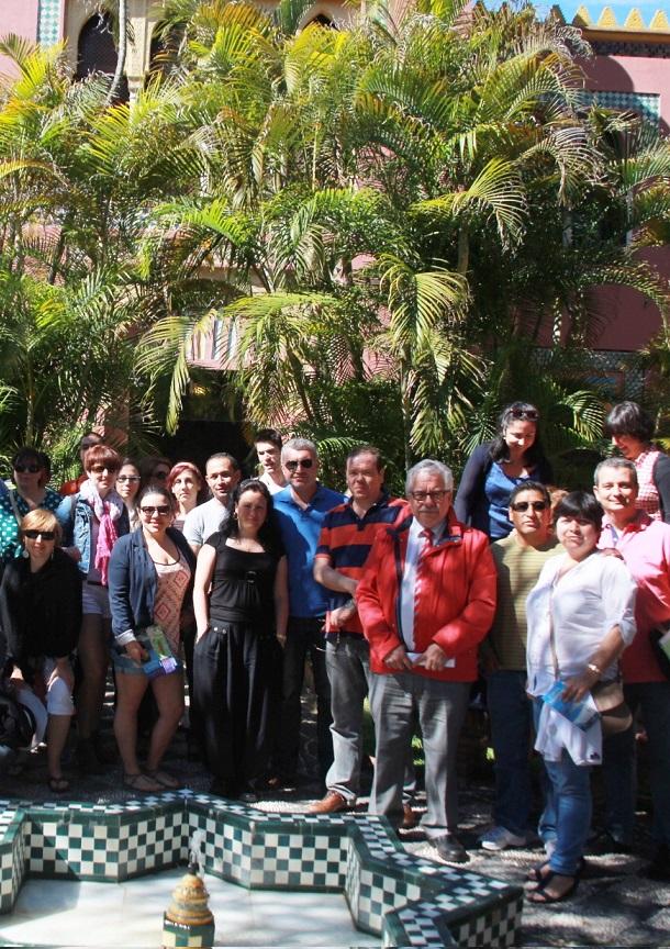 Más de 40 agentes de viajes de Madrid y Toledo conocen  la oferta turística de Almuñécar