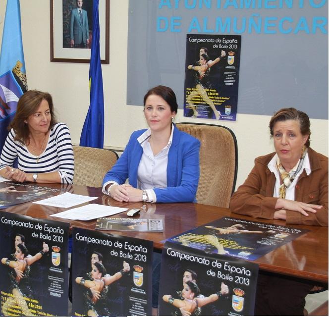 Almuñécar celebrará el II Trofeo Internacional de Baile  los días 7 y 8 de junio