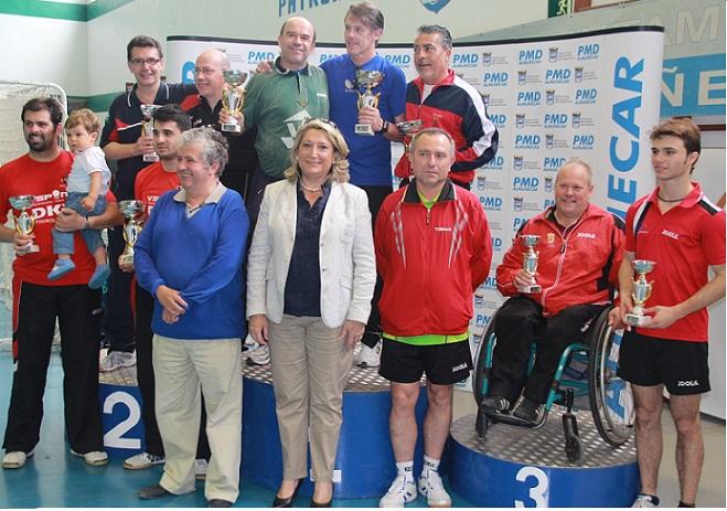 El palista granadino Manuel Robles consigue el bronce en el TOP 50 de Tenis de Mesa de Andalucía