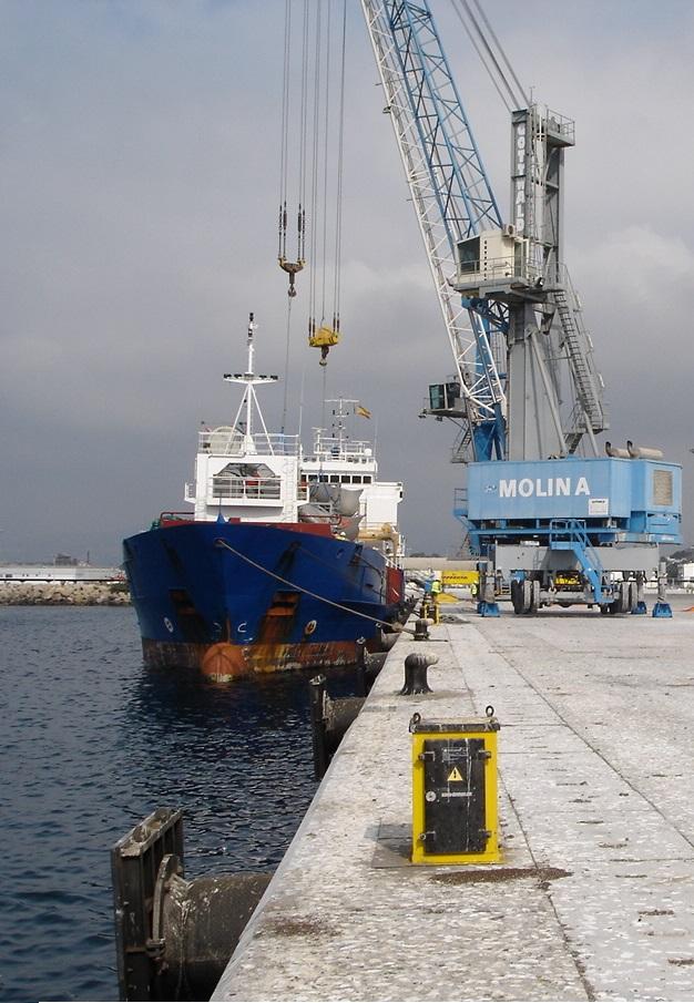 El Puerto de Motril ofrece en la Transport Logistic de Munich su cartera de servicios, infraestructuras y conectividad