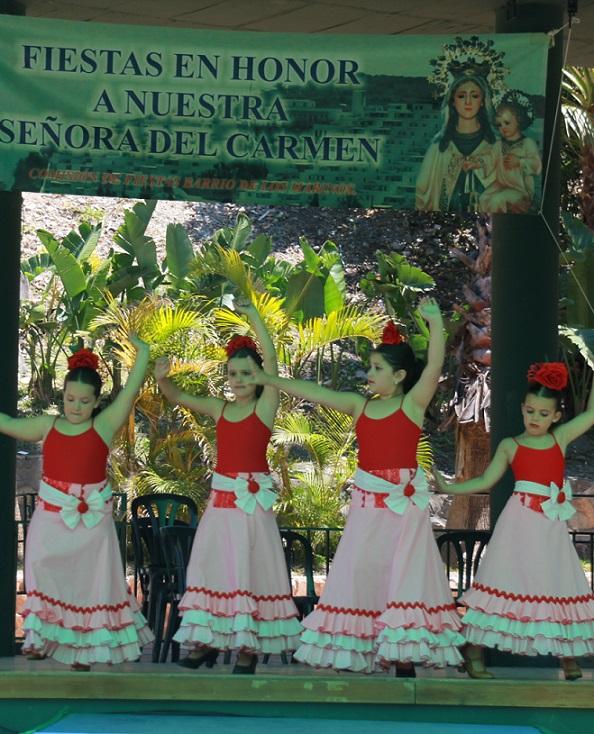 La Hermandad del Carmen celebro con éxito su Gala  en el parque El Majuelo
