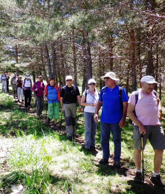 Una ruta por Sierra Nevada cierra la temporada de senderismo del PMD Almuñécar