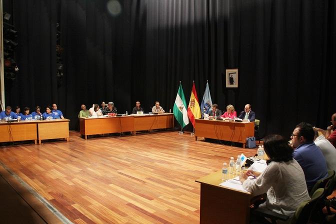 El Pleno acuerda solicitar a la Junta y al Ministerio iniciar la canalizaciones de la presa Rules-Béznar