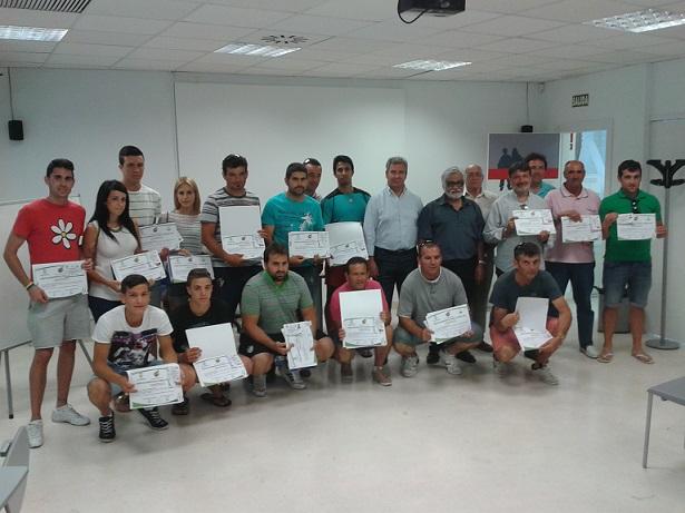 La Federación Andaluza de Fútbol forma a una treintena de motrileños como monitores deportivos