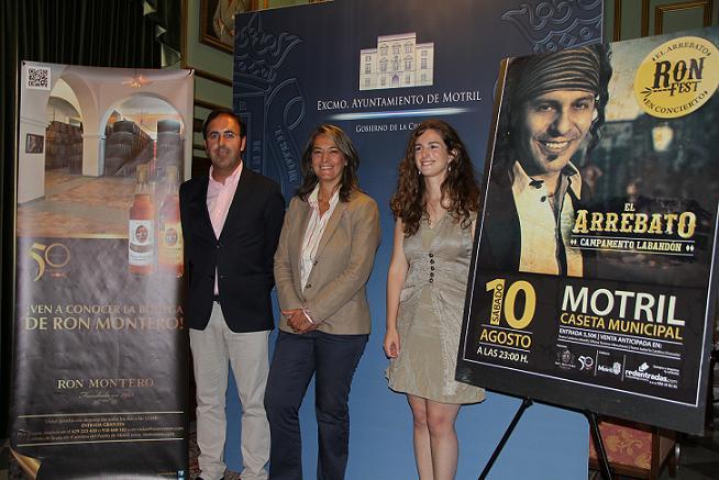 'El Arrebato' actuará en la Feria de Motril de la mano de la bodega ron Montero